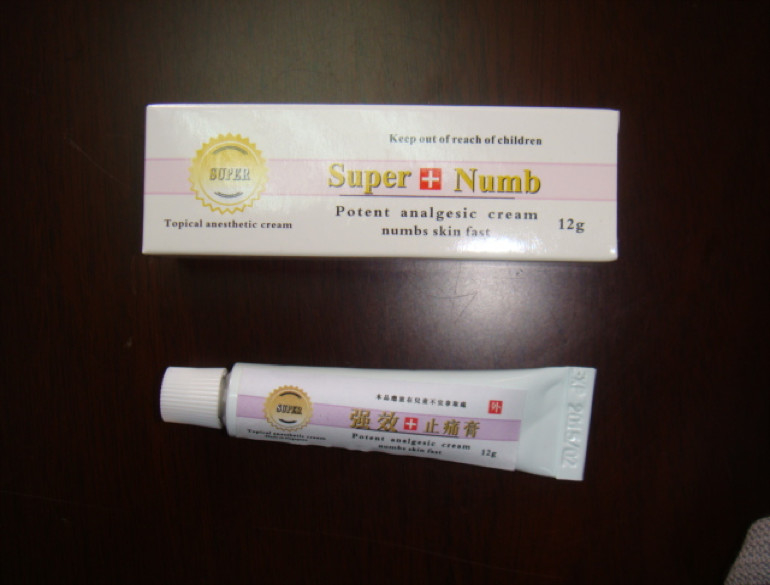 Permanent Makeup Tattoo Topical Anesthetic Fast Acting Numbing Cream 30g